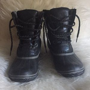 Sorel Black Rain/Snow Boots